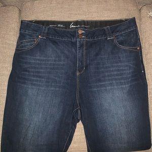 EUC Lane Bryant Bootcut Jeans Size 24.